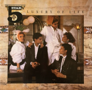Five Star - Luxury Of Life (LP) (VG-/VG-)